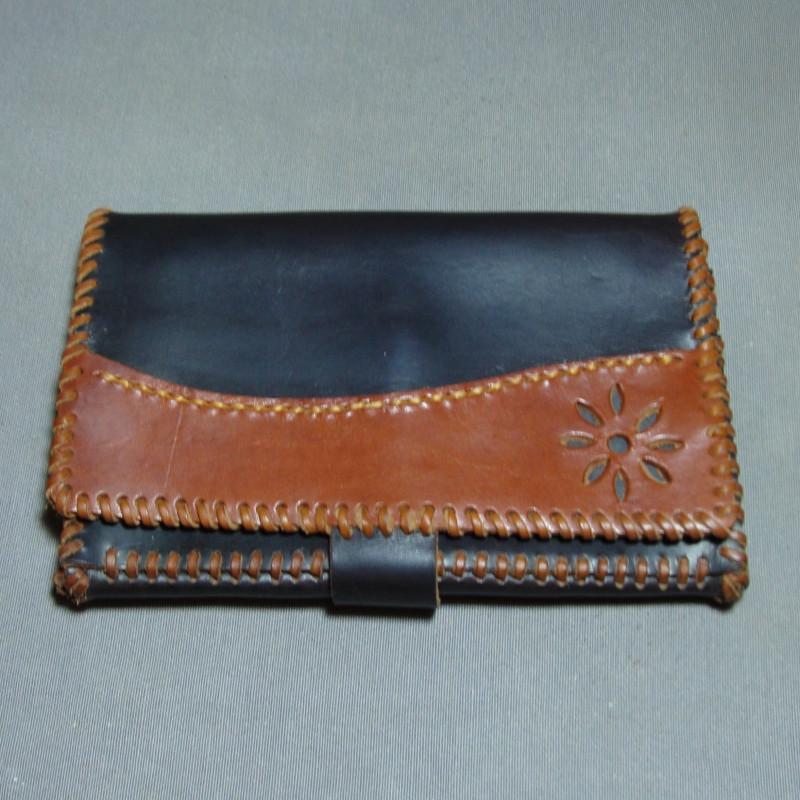 Cinturón de cuero Azul